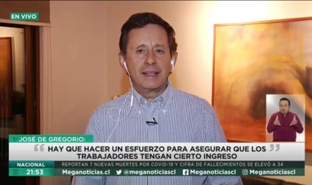 """Decano José De Gregorio """"El objetivo central de la política económica debería ser cuidar personas, cuidar empleo y cuidar la actividad económica"""""""