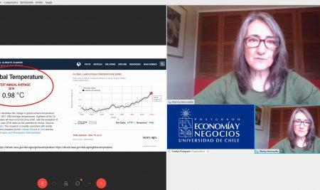 Directora ejecutiva de Líderes Empresariales por la Acción Climática compartió visión del impacto de la crisis sanitaria