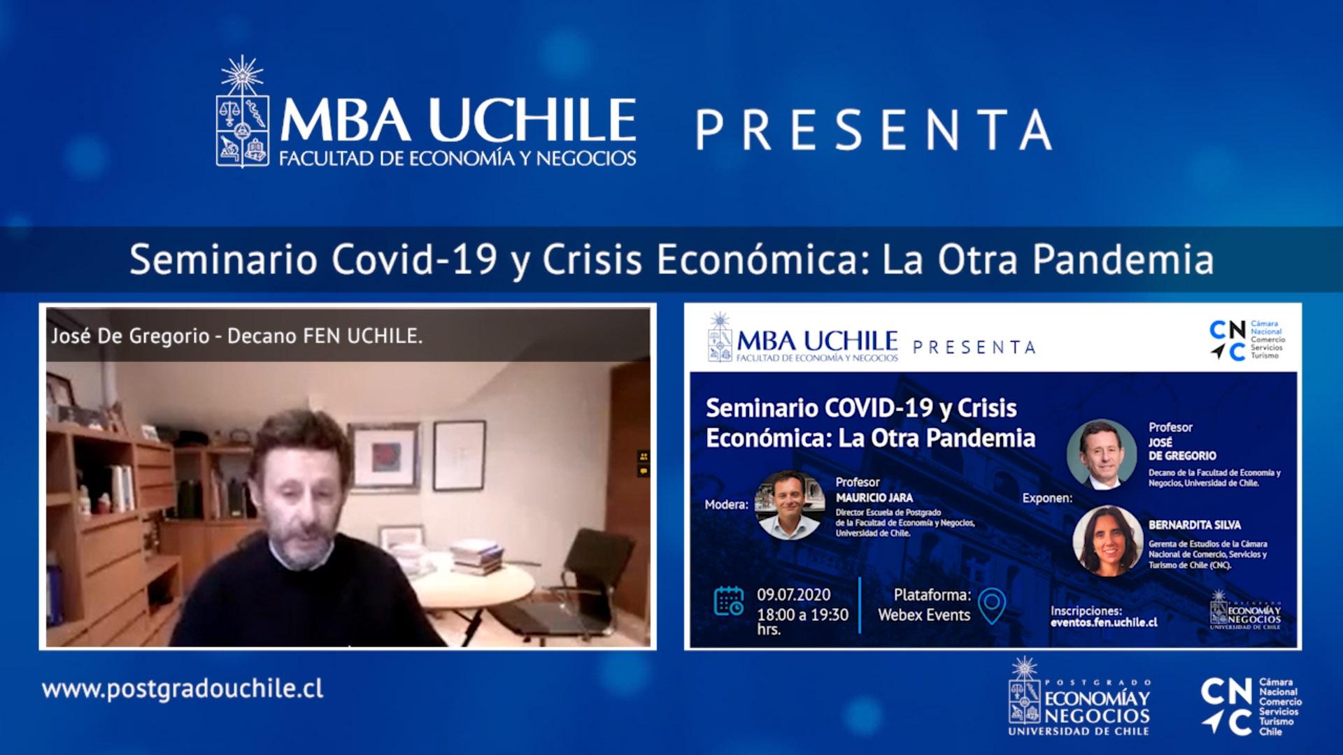 Seminario MBA FEN UCHILE y CNC