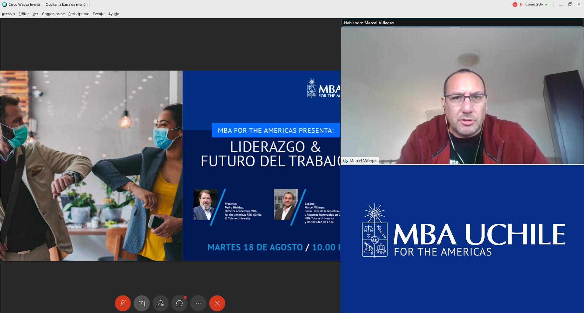 Marcel Villegas – MBA for the americas