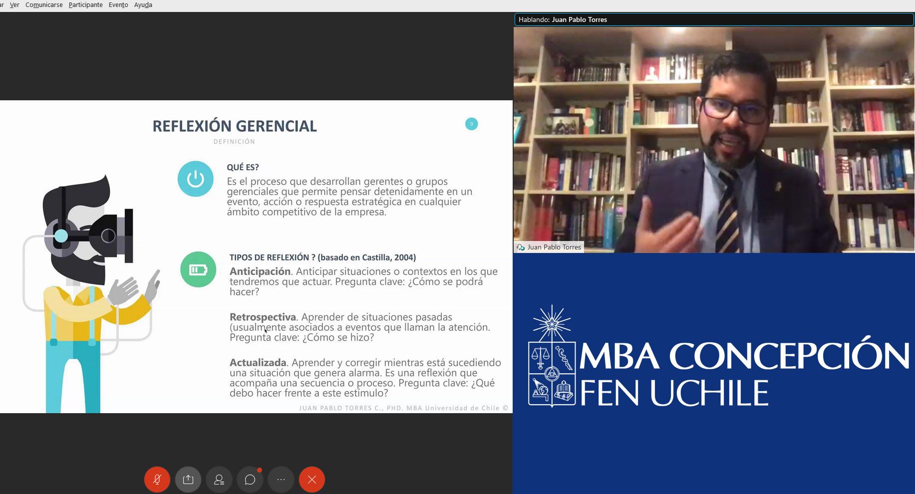 Profesor Juan Pablo Torres MBA FEN UCHILE Concepción