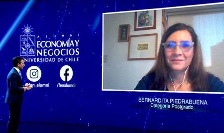 Doctorada en Economía Bernardita Piedrabuena se suma a Círculo de Honor FEN UCHILE