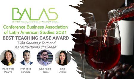 Académicos y graduadas del MBA FEN UCHILE obtienen el Best Teaching Case Award de Balas 2021
