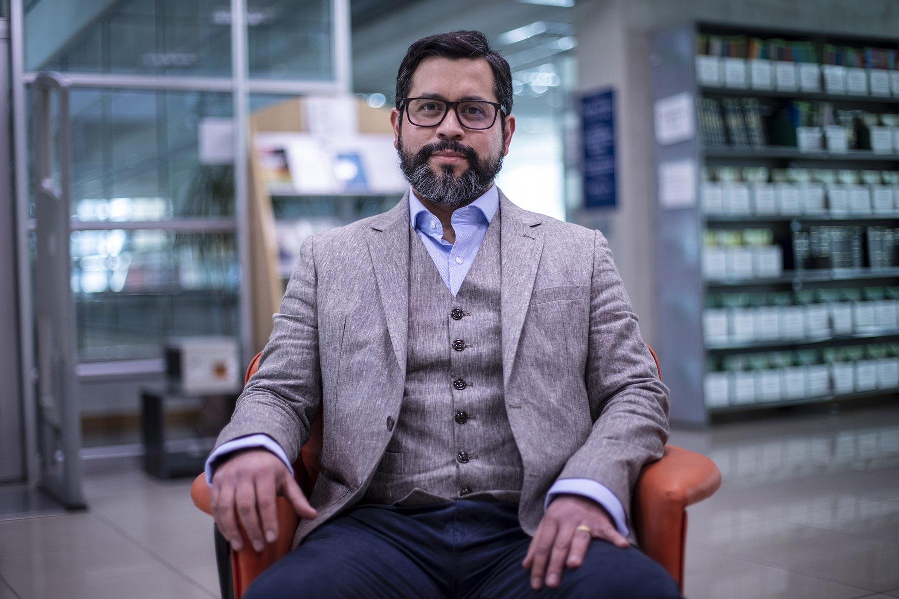 Juan Pablo Torres profesor FEN UCHILE